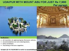 Udaipur with Mount Abu