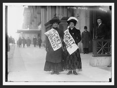 Solid-Faced Canvas Print Wall Art Print entitled Two workers on a picket line during a garment worker strike in New York City, 1910 Texas History, Us History, Women In History, History Education, 5th Grade Social Studies, Teaching Social Studies, 8th Grade History, History Lesson Plans, American History Lessons