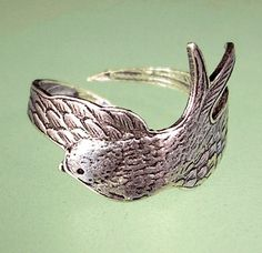 """sparrow ring. $28 would make a fabulous graduation gift """"His eye is on the sparrow ... so I know He watches me."""""""