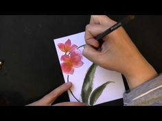 cardmaking video tutorial: Brushstroke Stamps and Ink Pad Stamping ... Penny Black