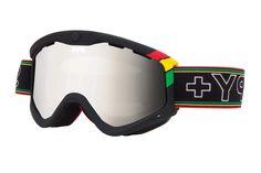 Spy - Targa 3 One Love Goggles, Bronze W/ Silver Mirror Lenses