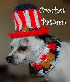 Ravelry: Free Crochet pattern -Uncle Sam's Top hat pattern by Sara Sach