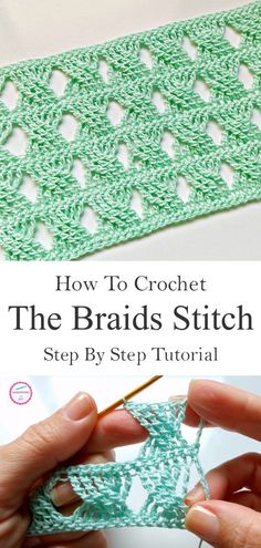 How To Crochet The Braids Stitch