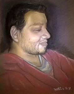 Mi amor #pasteldrawing #sketch #love #art
