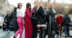 The best street style looks from Paris Fashion Week this March 2018—including Jeanne Damas, Aimee Song and many more cool girls.
