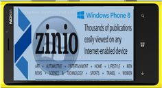 Zinio Magazine Application Coming to Windows Phone 8 as a Lumia ExclusiveWindows Phone 8, a sensational mobile operating system, is launched by Microsoft for its valuable customers. In the recent times, Windows Phone 8 has gained huge popularity in the market due to its innovative features and benefits that it offers to its users. Currently, it is one of the most demanded mobile operating system that allows users to enjoy a bunch of innovative features.
