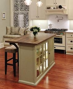 kitchen table storage backsplash design a island and dining in one with beautiful alternative programming or how to diy from cabinet decoratingkitchenideashome