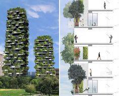 6. Stefano Boeri's Urban Vertical Forest