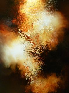"""Large Canvas Abstract Painting by Artist Simon Kenny """" Purge"""""""