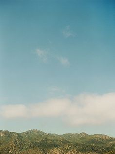View of the Malibu Hills, across the PCH from Malibu Beach Inn.  Photo by Matt Edge Photography