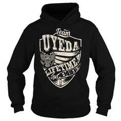 Awesome Tee Last Name, Surname Tshirts - Team UYEDA Lifetime Member Eagle T shirts