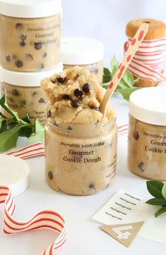Gift This! Gourmet Toasted Cookie Dough in a Jar Recipe