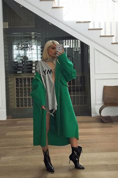 Kylie Jenner at her home in Calabasas, California.