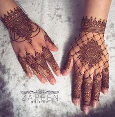 Trendy Bridal Mehndi Designs for Wedding - Buy lehenga choli online Pretty Henna Designs, Modern Henna Designs, Latest Henna Designs, Basic Mehndi Designs, Finger Henna Designs, Mehndi Designs For Girls, Wedding Mehndi Designs, Mehndi Designs For Fingers, Henna Designs Easy