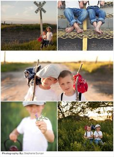 Family Picture Ideas: Huckleberry Finn