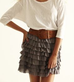 just a little longer skirt and I would love it!
