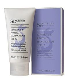 Sanctuary Spa Active Reverse Body Correct & Protect Hand Cream