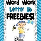 These FREEBIES are part of our Letter B Word Work Literacy Station Pack! FREEBIES include:    Morning Work    Handwriting Practice    Vocabulary Cards    C...