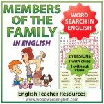 woodwardenglish.com Family members in English Word Search