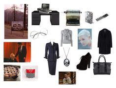 """""""Diane, 11:30 a.m., February Twenty-fourth. Entering the town of Twin Peaks..."""" by rescott1993 on Polyvore featuring Remington, Alexander McQueen, Bling Jewelry, New Look, Kate Spade, Dsquared2 and MSGM"""