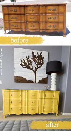 Des relookings de meubles réussis | BricoBistro