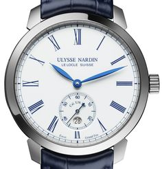 "Ulysse Nardin Classico Manufacture 170th Anniversary Limited Edition Watch - by Zach Pina - Check it out at: aBlogtoWatch.com  ""In 2015, Ulysse Nardin introduced the first in-house movement used in their Classic collection with the Classico Manufacture watch, an elegant and subdued piece from the brand that can make some very creative and avant-garde..."""
