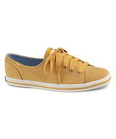 Look at this  zulilyfind! Keds Yellow Rally Sneaker - Women by Keds   zulilyfinds e1cdbfdee0c03