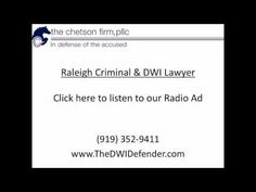 Raleigh criminal lawyer Damon Chetson helps people charged with serious felonies, misdemeanors, and Driving While Impaired (DWI). Radio Advertising, Accusations, Lawyer, Helping People, Videos