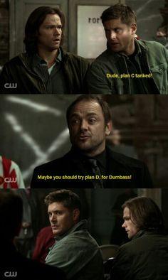 Crowley Dean and Sam