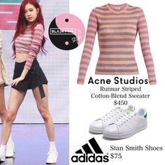 blackpink's style ( Fashion Idol, Blackpink Fashion, Kpop Fashion Outfits, Fashion Addict, Korean Fashion, Lit Outfits, Other Outfits, Dance Outfits, Casual Outfits
