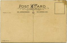 free postcard templates download