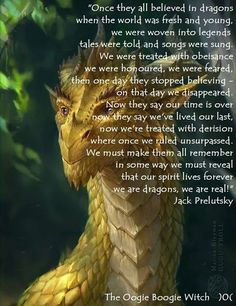 Dragons i believe