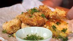 Hemlagade nuggets i Philips Airfryer Halloumi, Curry, Chicken, Food, Curries, Essen, Meals, Yemek, Eten