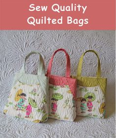 If you are quilter, than there is nothing easier than sewing a quilted bag. Its a cheaper...