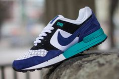 Nike Air Pegasus 89 Woven (Deep Royal And Teal)