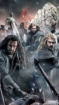 I watched The Battle Of Five Armies preview again today and nearly burst into tears. I am just not ready to watch the Durin family die. A part of my heart will be left behind in the movie theater on that day.