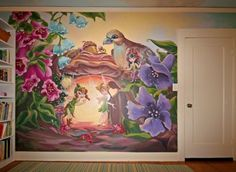 fairy hideout mural 2.jpg | Custom Murals by San Francisco Bay Area Mural Artist