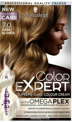 Schwarzkopf Color Expert Omegaplex 10.1 Icy Blond | Beauty ...