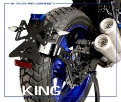 License Plate Holder KING SUZUKI SV650 Special Bike by #valtermotocomponents #madeinitaly #followus #suzukimotor #sv650 #specialparts #preciselygrafted #preciselycraftedacademy #ergal #EICMA20169