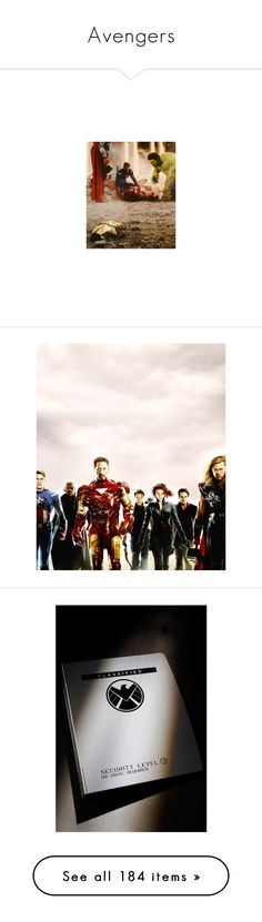 """Avengers"" by windsinger ❤ liked on Polyvore featuring marvel, avengers, fandom, pictures, superheroes, the avengers, images, shield, backgrounds and photos"