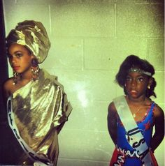 #Beyonce as a little girl #queenbey