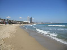 Barcelona Beach, Towers, Twin, Water, Outdoor, Gripe Water, Outdoors, Tours, Tower