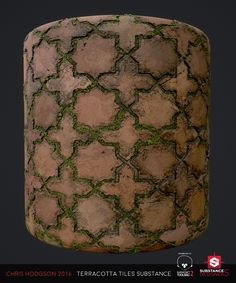 ArtStation - Terracotta Tiles / Substance Designer, Chris Hodgson