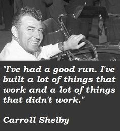 Carroll Shelby's quote #1