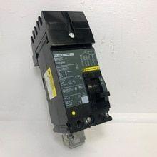 Square D I Line Fh26100ac 100a Circuit Breaker Green 600v 2 Pole