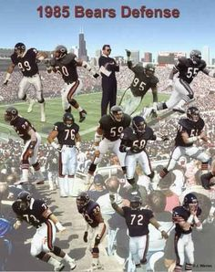 130 1985 chicago bears ideas chicago