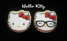 Hello Kitty Cookies от oohlalabakingco на Etsy, $42.00