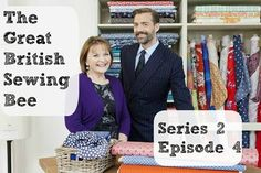 The Great British Sewing Bee fabrics, sewing patterns and techniques from episode 4