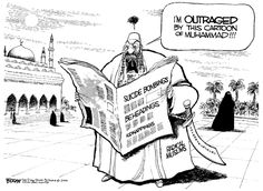 Muhammad Cartoons   Creeping Sharia