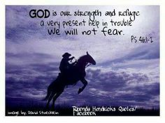 God is our strength and refuge 💜 Rhonda Hendricks Quotes Psalm 46, Horse Pictures, Prayers, Strength, Faith, God, Quotes, Movie Posters, Facebook
